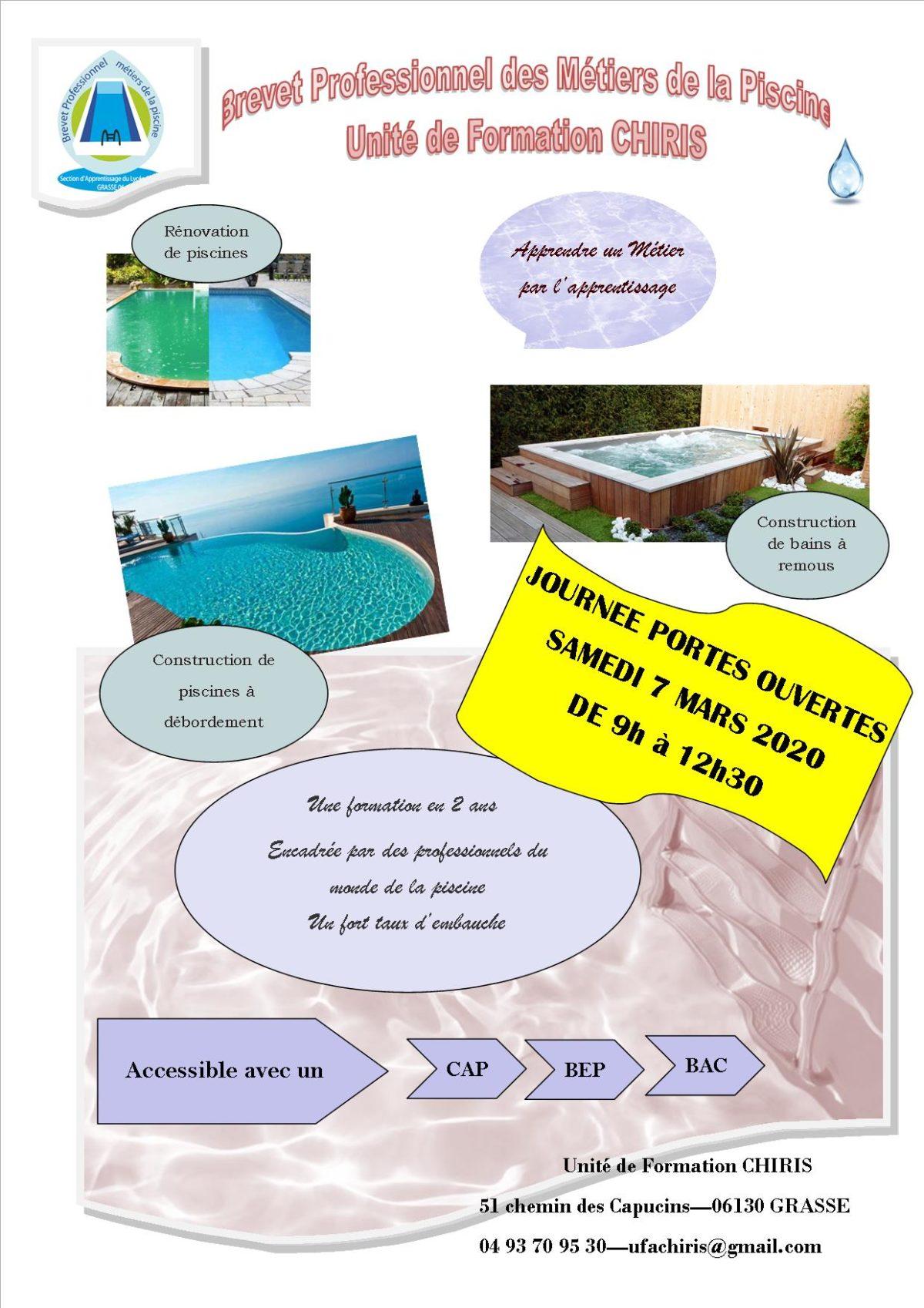 BP Métiers de la piscine
